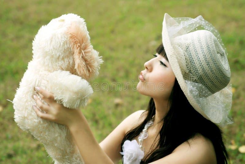 ασιατικά κορίτσια στοκ φωτογραφίες