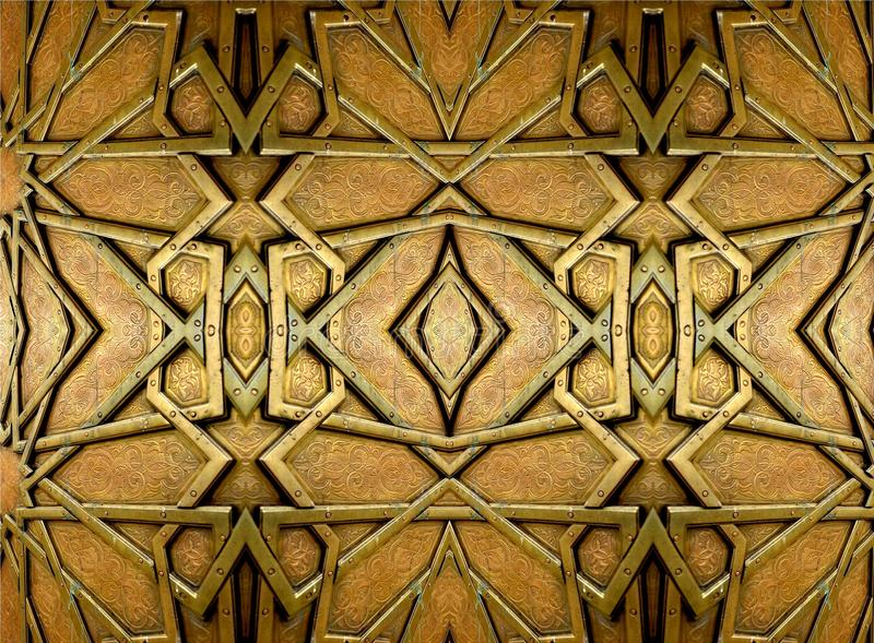 Ασιατικά σχέδια και διακοσμήσεις σιδήρου στοκ φωτογραφίες με δικαίωμα ελεύθερης χρήσης