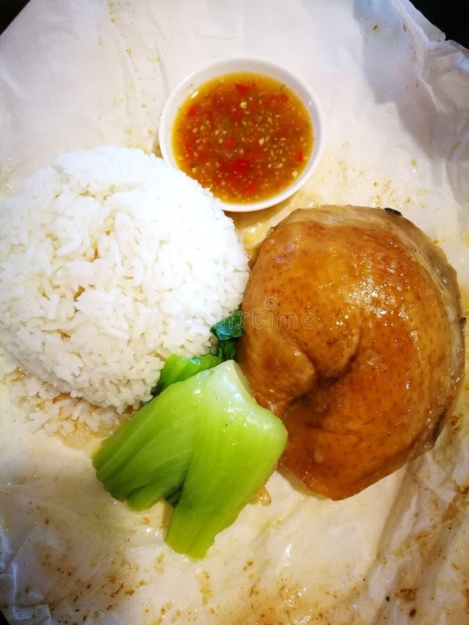 Ασιατικά τρόφιμα οδών αγοράς νύχτας στοκ εικόνες