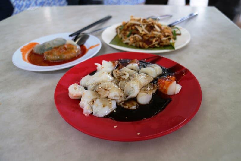 Ασιατικά τρόφιμα πωλητών στοκ φωτογραφίες με δικαίωμα ελεύθερης χρήσης