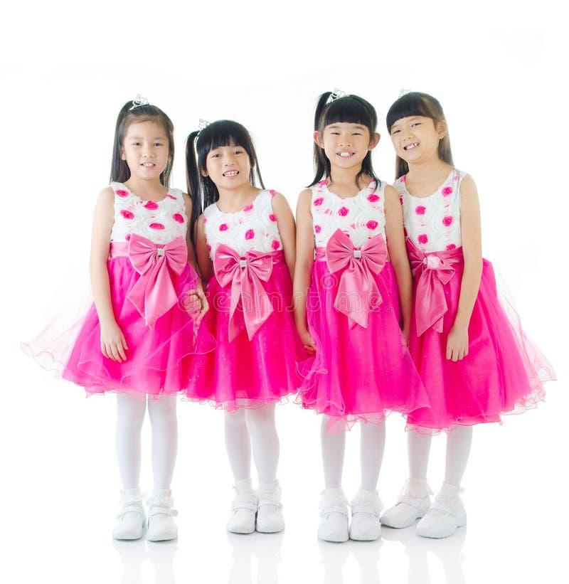 ασιατικά χαριτωμένα κορίτσια στοκ φωτογραφία με δικαίωμα ελεύθερης χρήσης