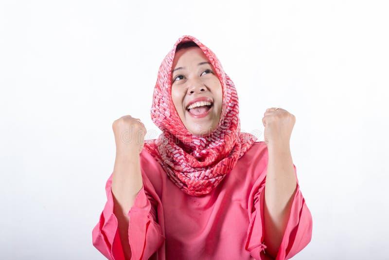 Ασιατικές μουσουλμανικές επιχειρησιακές γυναίκες που φορούν hijab στοκ εικόνα με δικαίωμα ελεύθερης χρήσης