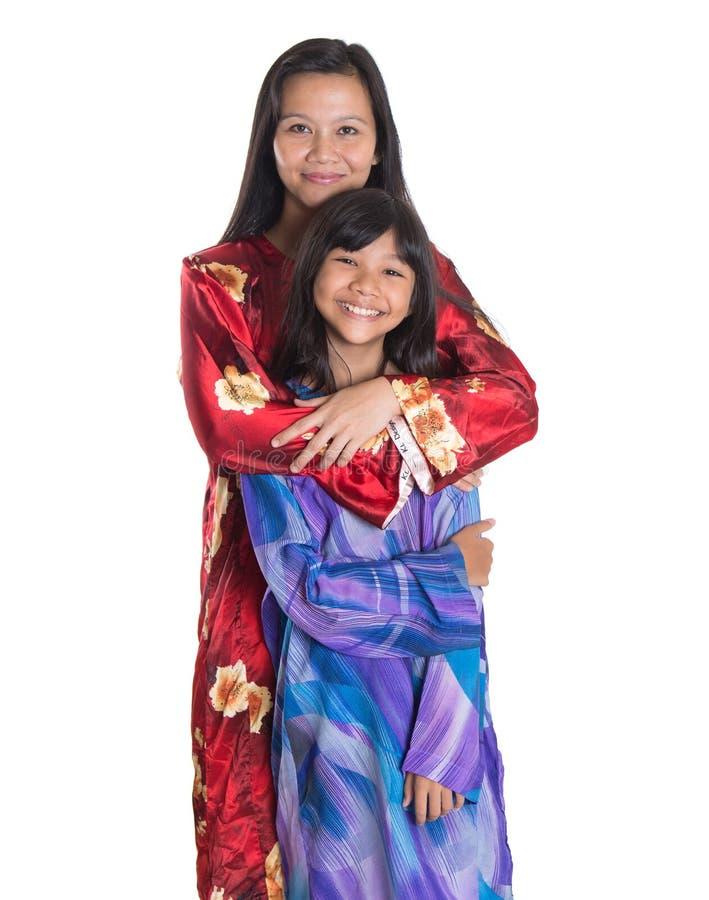 Ασιατικές της Μαλαισίας μητέρα και κόρη IV στοκ εικόνες με δικαίωμα ελεύθερης χρήσης