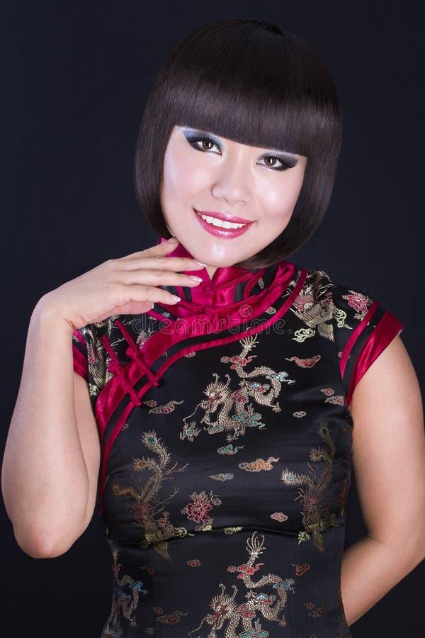 ασιατικές όμορφες νεολαίες γυναικών πορτρέτου στοκ φωτογραφίες