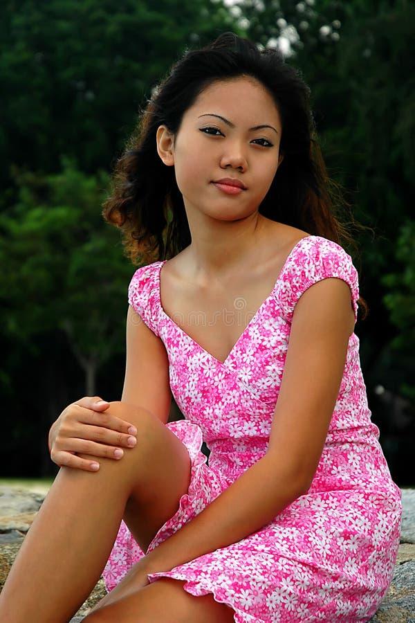 Download ασιατική γυναίκα στοκ εικόνα. εικόνα από νέος, malay, αρκετά - 107691