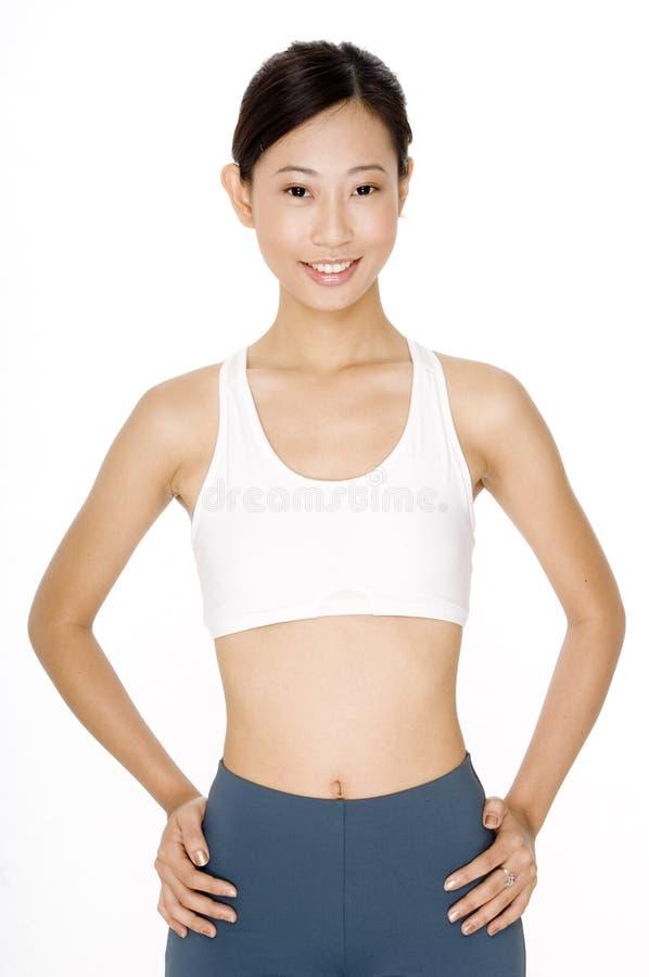 Ασιατική γυναίκα στοκ εικόνα