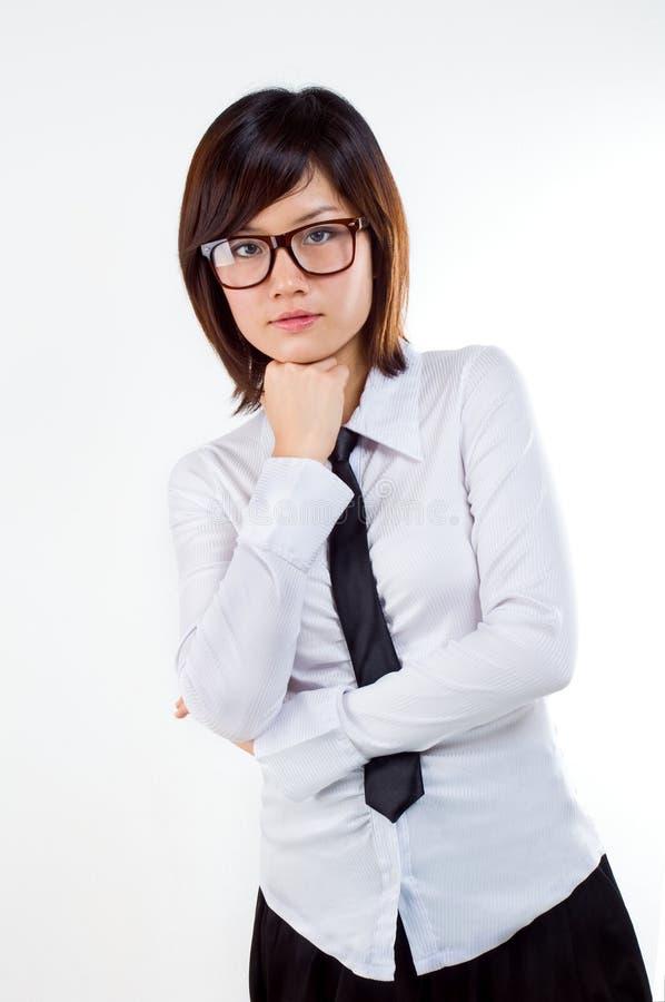 ασιατική επιχειρηματίας στοκ εικόνες