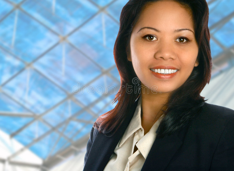 ασιατική επιχειρηματίας στοκ φωτογραφίες