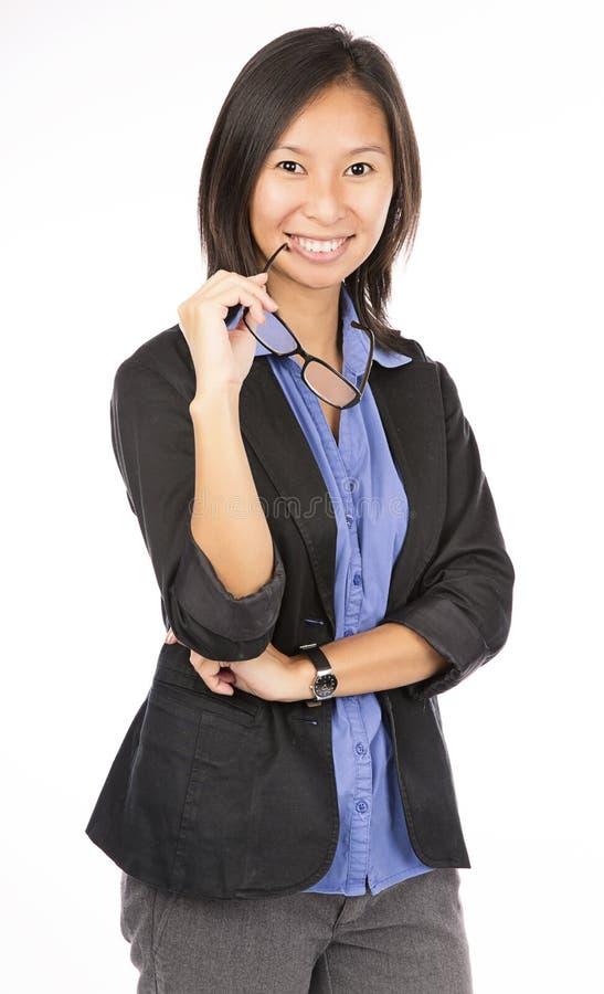 Ασιατική επιχειρησιακή γυναίκα στοκ εικόνες με δικαίωμα ελεύθερης χρήσης