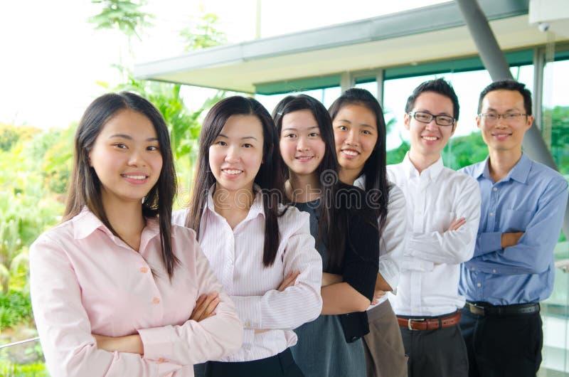 Ασιατική επιχειρησιακή ομάδα στοκ εικόνες με δικαίωμα ελεύθερης χρήσης