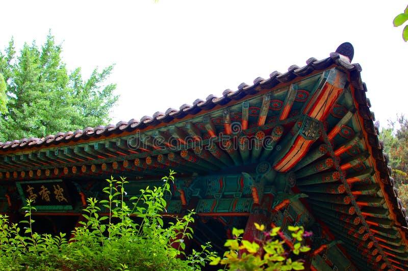 Ασιατική λεπτομέρεια οικοδόμησης στοκ φωτογραφία με δικαίωμα ελεύθερης χρήσης