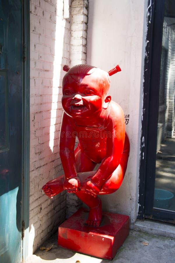 Ασιατική Κίνα, Πεκίνο, περιοχή 798 τέχνης, περιοχή τέχνης DADï ¼  Dashanzi στοκ εικόνες με δικαίωμα ελεύθερης χρήσης