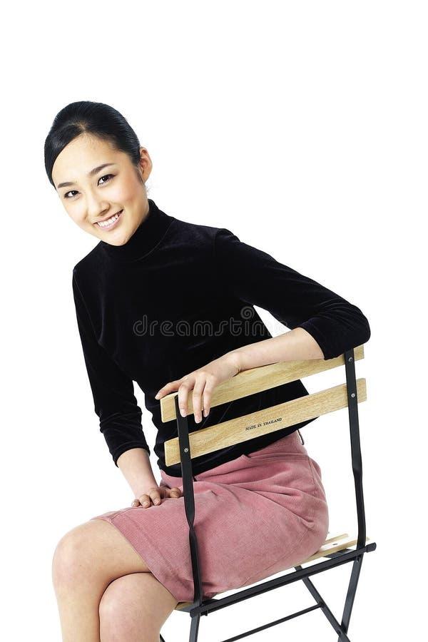 ασιατική κυρία στοκ εικόνα με δικαίωμα ελεύθερης χρήσης