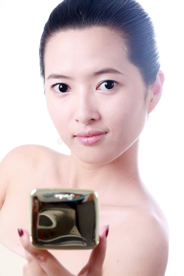 Ασιατική νέα γυναίκα στοκ εικόνα