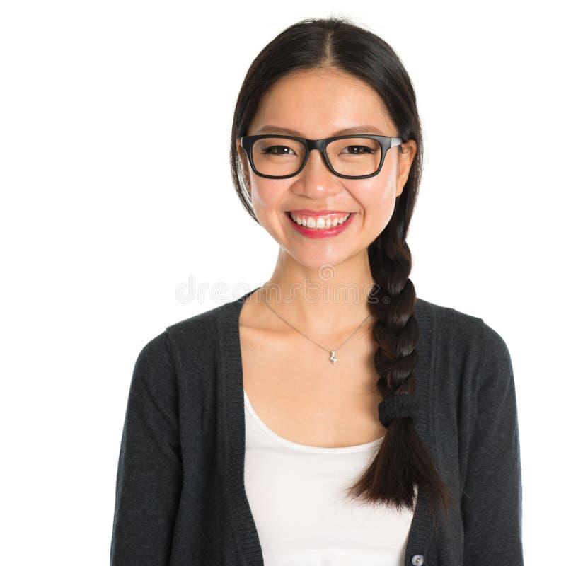 Ασιατική νέα επιχειρησιακή γυναίκα στοκ φωτογραφίες