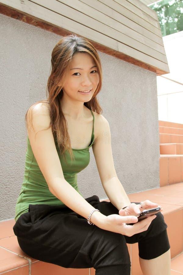 ασιατική νεολαία καλλιέ στοκ φωτογραφίες