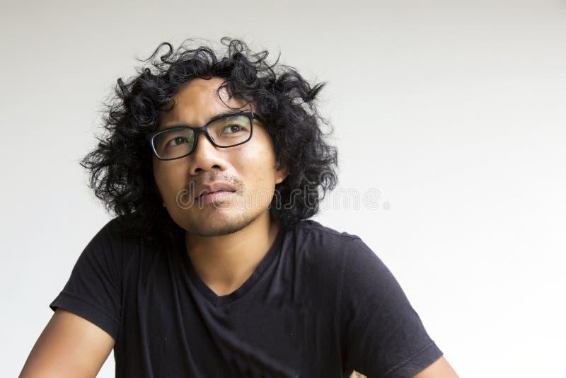 Ασιατική δράση προσώπου ατόμων στο λευκό στοκ φωτογραφίες με δικαίωμα ελεύθερης χρήσης