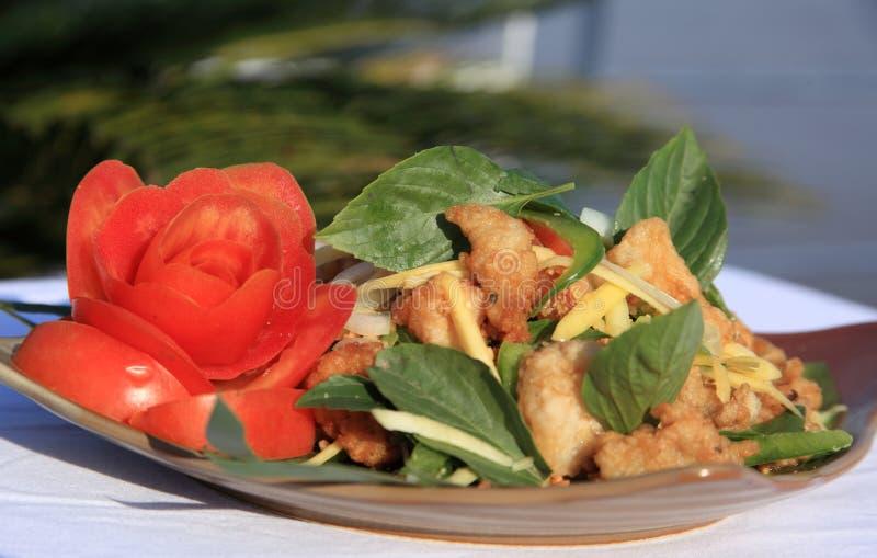 ασιατική σαλάτα στοκ φωτογραφία
