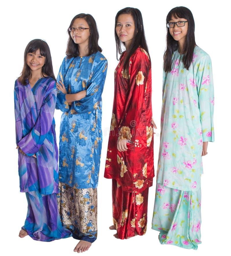 Ασιατική της Μαλαισίας μητέρα με τις κόρες IV στοκ εικόνες με δικαίωμα ελεύθερης χρήσης