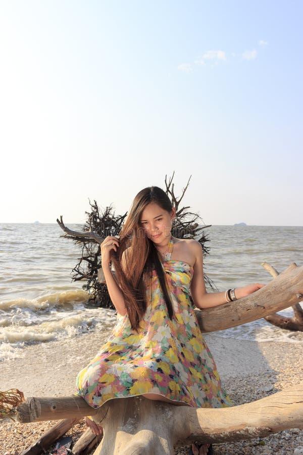 ασιατική όμορφη γυναίκα π&alpha στοκ εικόνες