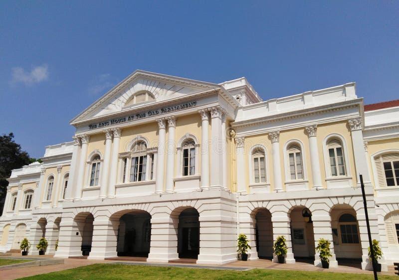 Ασιατικοί πολιτισμοί Museu στη Σιγκαπούρη στοκ εικόνα με δικαίωμα ελεύθερης χρήσης