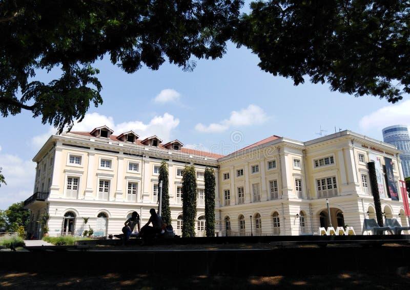 Ασιατικοί πολιτισμοί Museu στη Σιγκαπούρη στοκ εικόνα