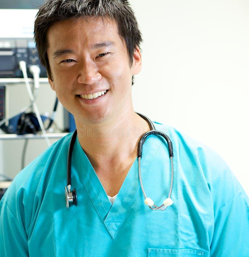 ασιατικός γιατρός στοκ εικόνα