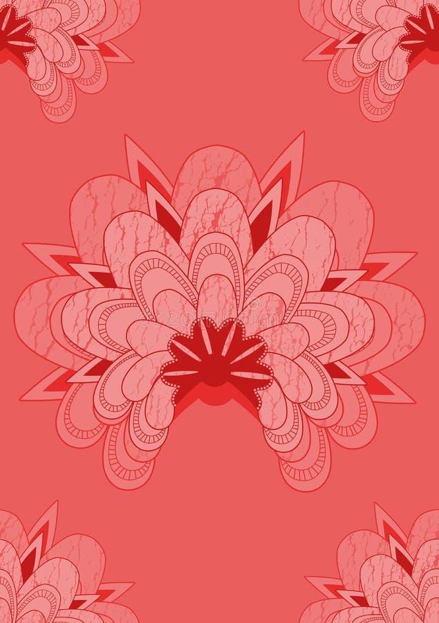 ασιατικός κόκκινος άνευ & απεικόνιση αποθεμάτων