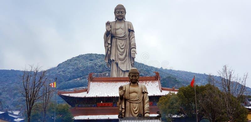 Ασιατικός πολιτισμός Sakyamuni Βούδας στοκ εικόνα με δικαίωμα ελεύθερης χρήσης