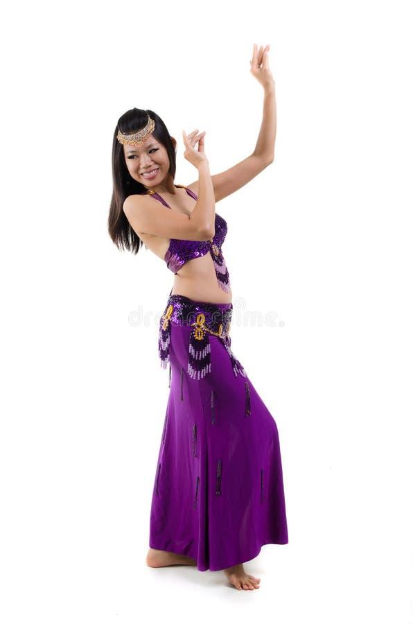 ασιατικός χορευτής κοιλιών στοκ φωτογραφία με δικαίωμα ελεύθερης χρήσης
