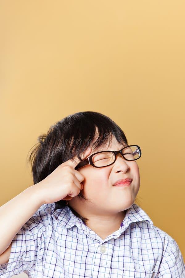 ασιατικό αγόρι χαριτωμένο στοκ φωτογραφίες
