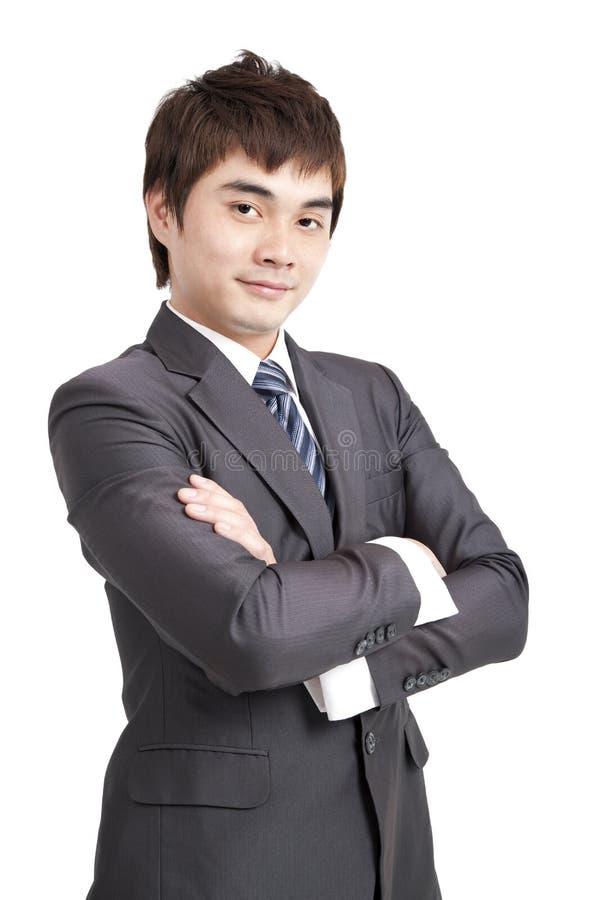 ασιατικό επιχειρησιακό άτομο στοκ εικόνα με δικαίωμα ελεύθερης χρήσης