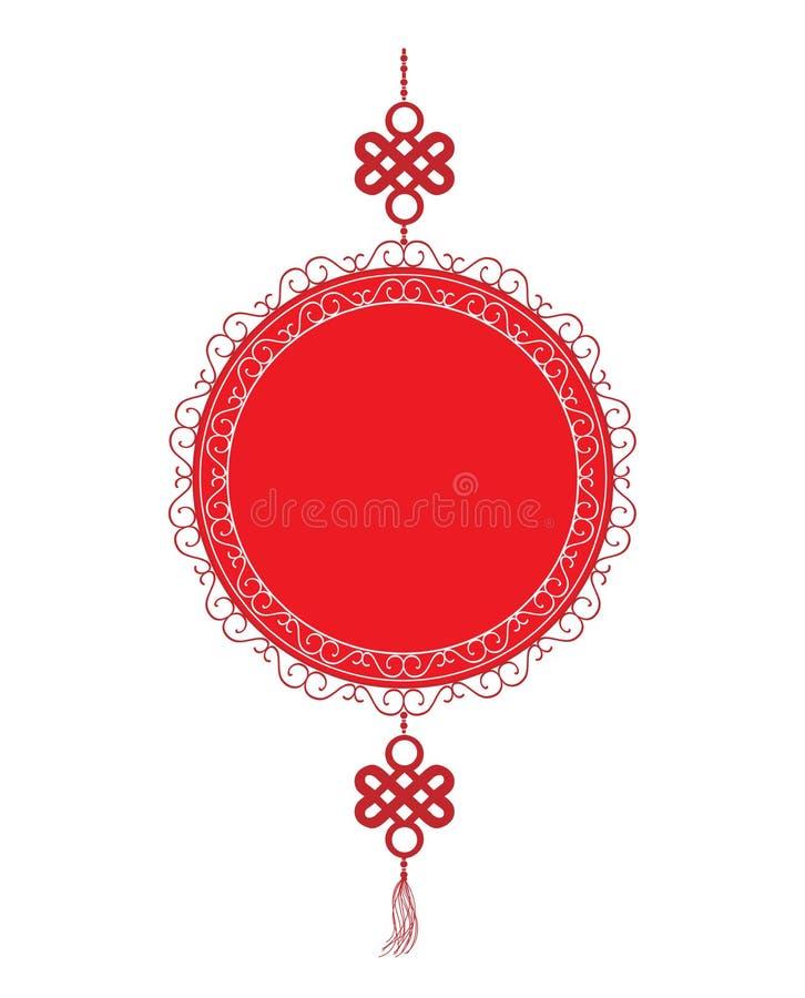 Ασιατικό ευτυχές κινεζικό νέο στοιχείο έτους ελεύθερη απεικόνιση δικαιώματος