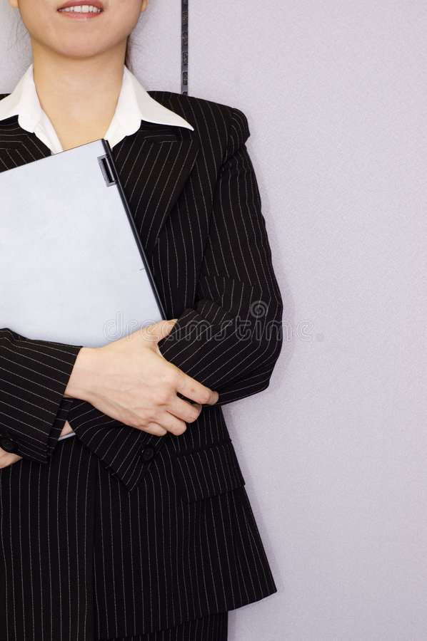 ασιατικό θηλυκό ανώτατων στελεχών επιχείρησης στοκ εικόνα με δικαίωμα ελεύθερης χρήσης