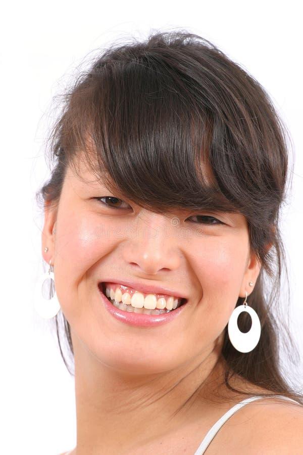 ασιατικό κορίτσι ευτυχές στοκ φωτογραφία με δικαίωμα ελεύθερης χρήσης