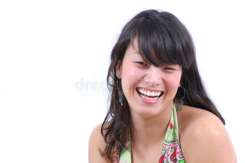 ασιατικό κορίτσι ευτυχές στοκ φωτογραφίες με δικαίωμα ελεύθερης χρήσης