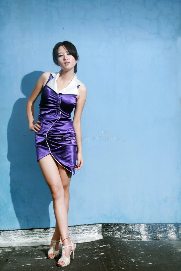 Ασιατικό κορίτσι μόδας στοκ φωτογραφίες με δικαίωμα ελεύθερης χρήσης