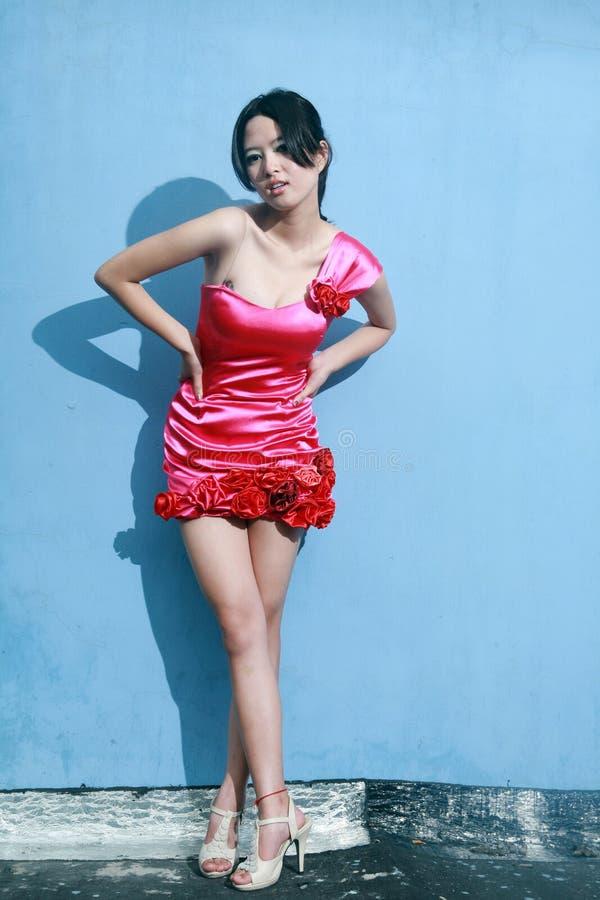 Ασιατικό κορίτσι μόδας στοκ φωτογραφία με δικαίωμα ελεύθερης χρήσης