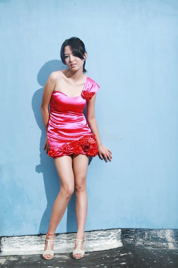 Ασιατικό κορίτσι μόδας στοκ φωτογραφία
