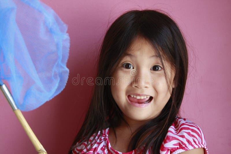 ασιατικό κορίτσι πεταλο στοκ εικόνες