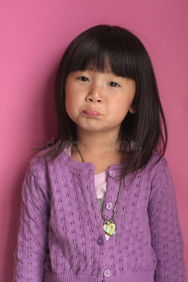 ασιατικό κορίτσι προσώπο&up στοκ εικόνες με δικαίωμα ελεύθερης χρήσης
