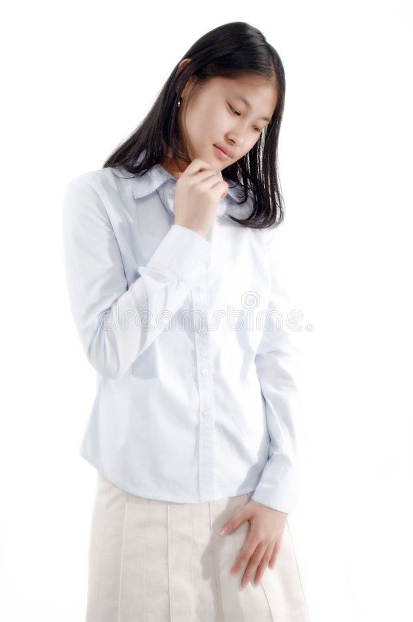 ασιατικό κορίτσι 6 Στοκ Εικόνα