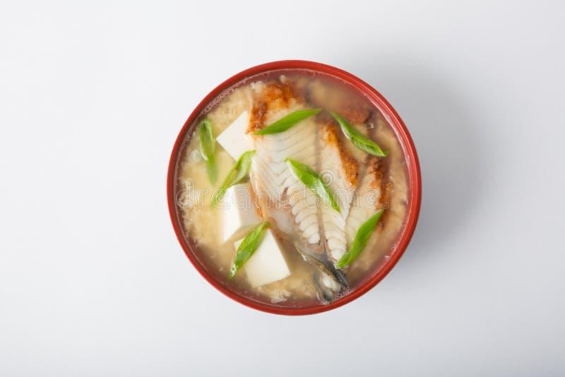 Ασιατικό κύπελλο σούπας sseafood στοκ εικόνες