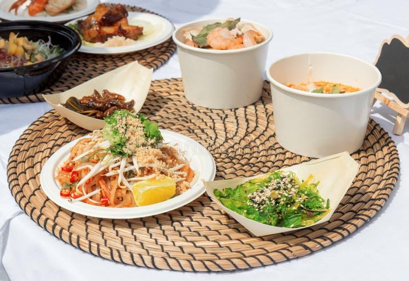 Ασιατικό μαγείρεμα τροφίμων οδών στοκ φωτογραφίες με δικαίωμα ελεύθερης χρήσης