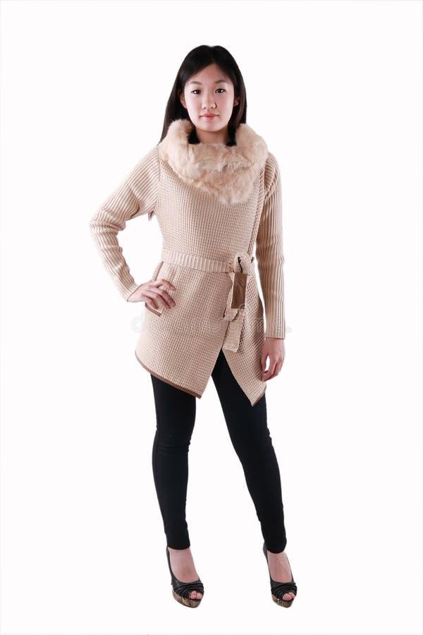 Ασιατικό μοντέλο μόδας στοκ εικόνα
