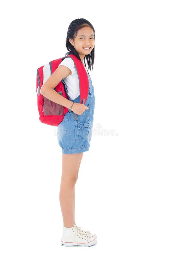 Ασιατικό παιδί σχολείου στοκ εικόνα