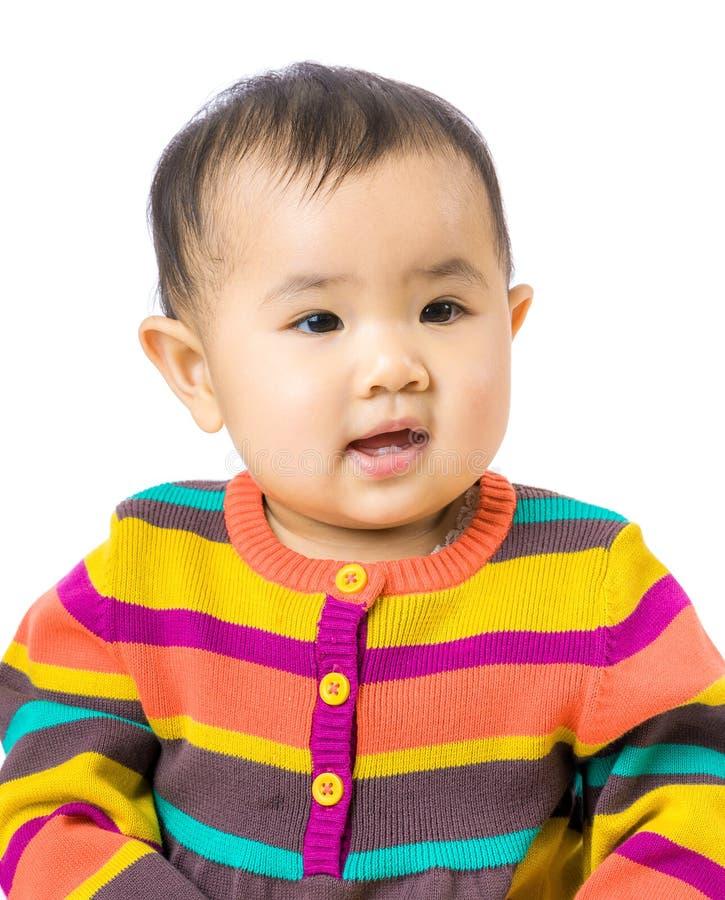 Ασιατικό πορτρέτο μωρών στοκ εικόνες
