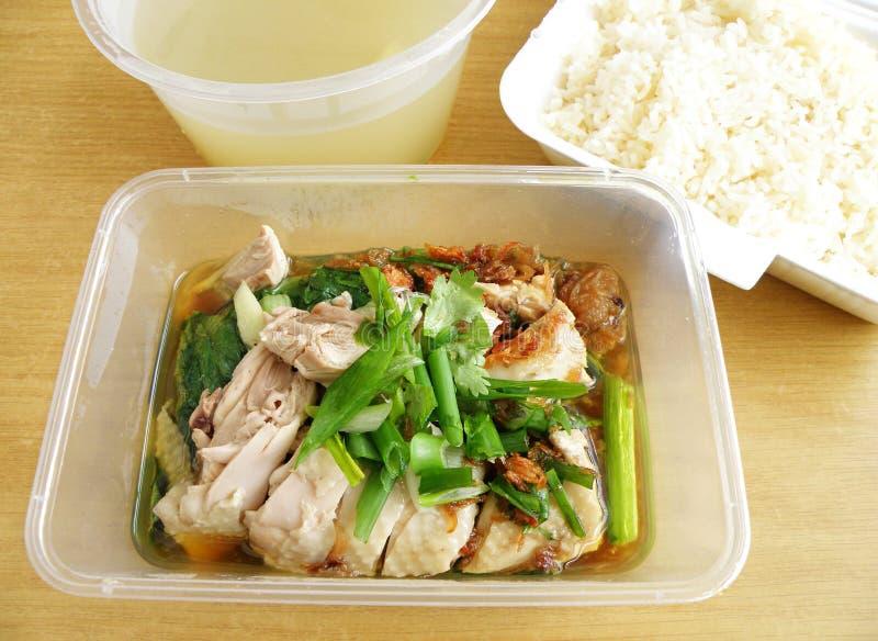 ασιατικό ρύζι τροφίμων κοτό& στοκ φωτογραφία