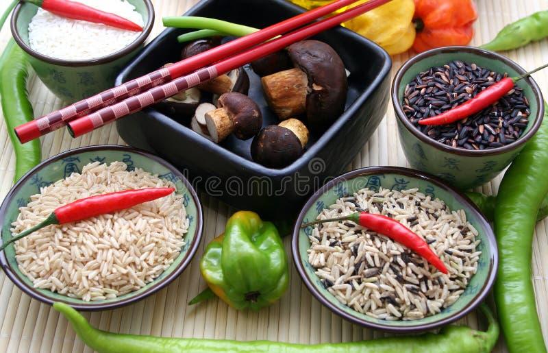 ασιατικό ρύζι στοκ εικόνες με δικαίωμα ελεύθερης χρήσης