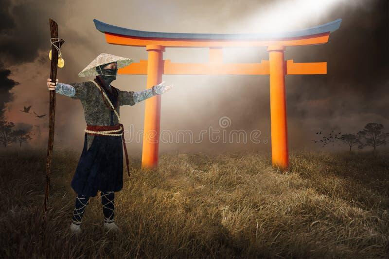 Ασιατικό σοφό άτομο, ειρήνη, ελπίδα, πνευματική αναγέννηση στοκ εικόνες με δικαίωμα ελεύθερης χρήσης